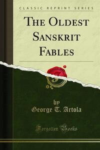 The Oldest Sanskrit Fables