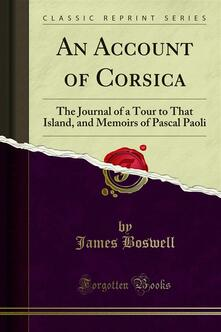 An Account of Corsica