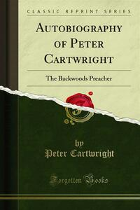 Autobiography of Peter Cartwright