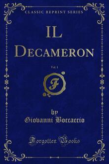 IL Decameron - Giovanni Boccaccio - ebook