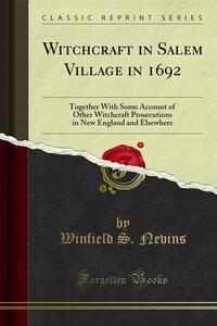 Witchcraft in Salem Village in 1962