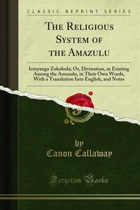 The Religious System of the Amazulu