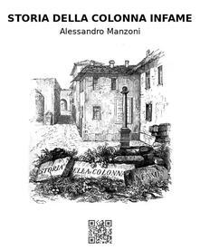 Storia della colonna infame - Alessandro Manzoni - ebook