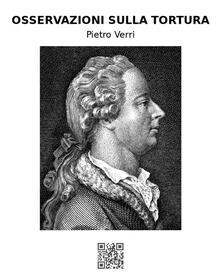 Osservazioni sulla tortura - Pietro Verri - ebook
