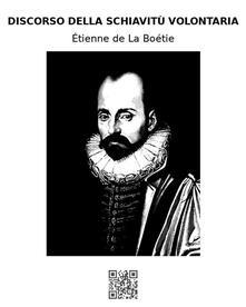 Discorso sulla schiavitù volontaria - Étienne de La Boétie - ebook