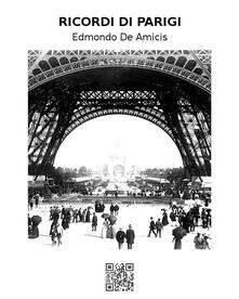 Ricordi di Parigi - Edmondo De Amicis - ebook