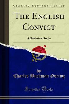 The English Convict