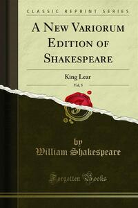 A New Variorum Edition of Shakespeare