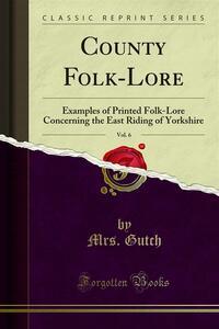County Folk-Lore