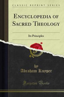 Encyclopedia of Sacred Theology