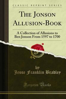 The Jonson Allusion-Book