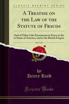 A Treatise on the Law of the Statute of Frauds