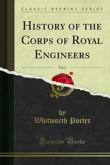 History of the Corps of Royal Engineers