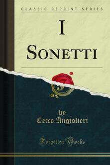 I Sonetti - Cecco Angiolieri - ebook