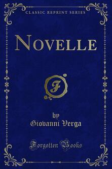 Novelle - Giovanni Verga - ebook