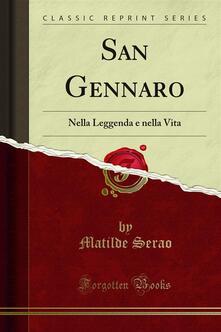 San Gennaro - Matilde Serao - ebook