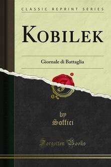Kobilek - Soffici - ebook