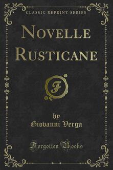 Novelle Rusticane - Giovanni Verga - ebook