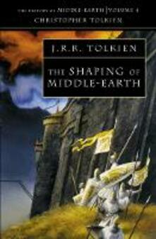 The Shaping of Middle-earth - Christopher Tolkien - cover