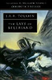 The Lays of Beleriand - Christopher Tolkien - cover