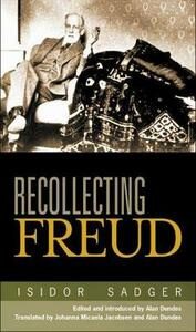 Recollecting Freud - Isidor Sadger - cover