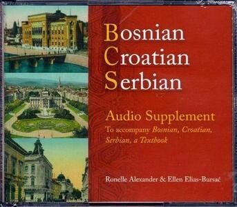 Bosnian, Croatian, Serbian Audio Supplement - cover