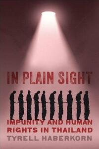 In Plain Sight: Impunity and Human Rights in Thailand - Tyrell Haberkorn - cover