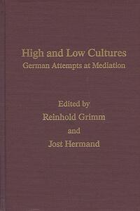 High And Low Cultures -Mov #14: German Attempts At Mediation - cover