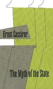 The Myth of State - Ernst Cassirer - cover