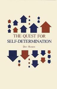The Quest for Self-Determination - Dov Ronen - cover