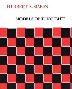 Models of Thought - Herbert Alexander Simon - cover