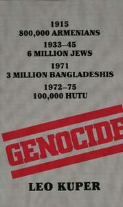 Genocide: Its Political Use in the Twentieth Century - Leo Kuper - cover
