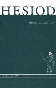 Hesiod - Robert Lamberton - cover