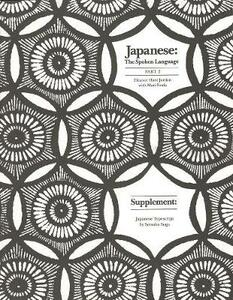 Japanese, The Spoken Language: Part 2, Supplement: Japanese Typescript - Eleanor Harz Jorden - cover