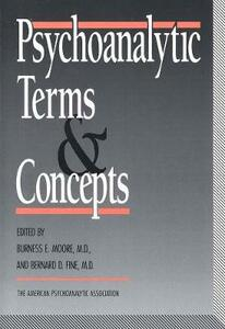 Psychoanalytic Terms and Concepts - cover