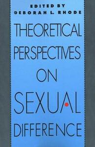 Theoretical Perspectives on Sexual Difference - cover