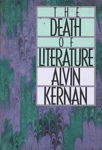 The Death of Literature - Alvin B. Kernan - cover
