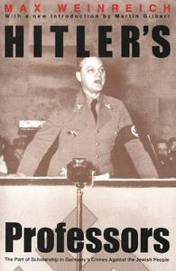 Hitler's Professors: Second Edition - Max Weinreich - cover