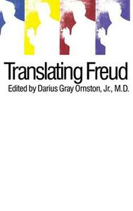 Translating Freud - Darius Ornston - cover