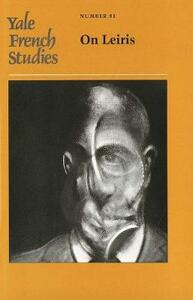 Yale French Studies, Number 81: On Leiris - cover