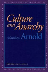 Culture and Anarchy - Matthew Arnold - cover