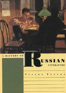 A History of Russian Literature - Victor Terras - cover