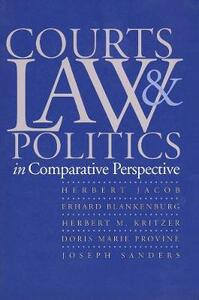 Courts, Law, and Politics in Comparative Perspective - Herbert Jacob,Erhard Blankenburg,Herbert M. Kritzer - cover