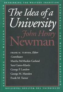 The Idea of a University - John Henry Newman - cover
