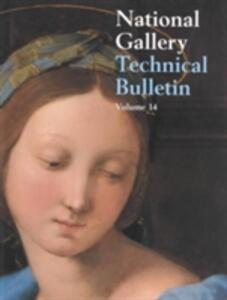 National Gallery Technical Bulletin - cover