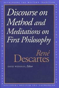 Discourse on the Method and Meditations on First Philosophy - Rene Descartes - cover