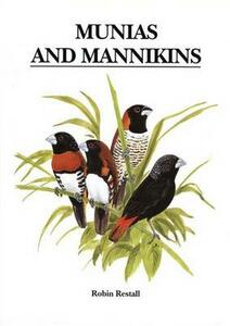 Munias and Mannikins - Robin L. Restall - cover