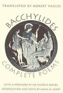 Complete Poems - Bacchylides - cover