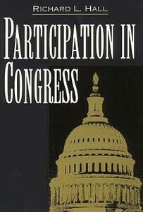 Participation in Congress - Richard L. Hall - cover