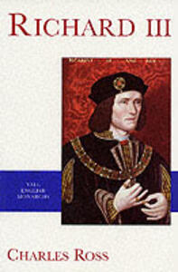 Richard III - Charles Ross - cover